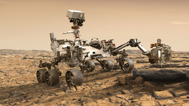 Mars rover by NASA