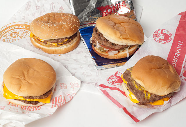 Value burgers from Wendy's, Sonic, and other popular fast food restaurants