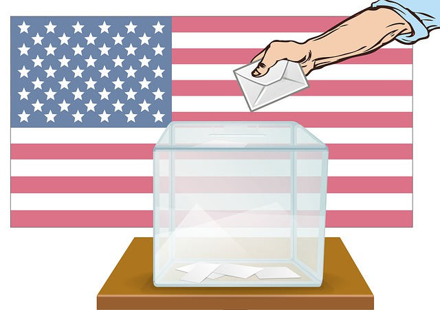 Picture of ballot box