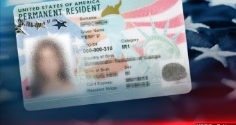 Picture of US Green Card