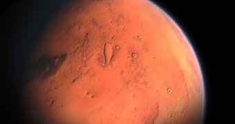 Mars as seen from space