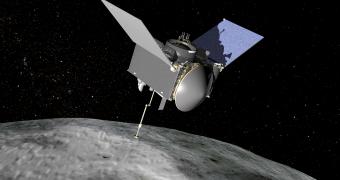 OSIRIS-REx spacecraft from NASA