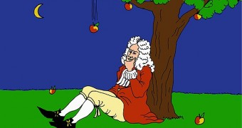 Isaac Newton and Apple