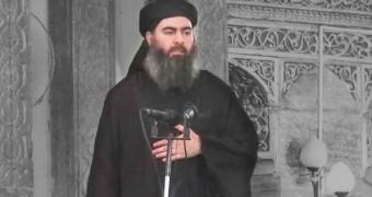 photo of ISIS leader Abu Bakr al-Baghdadi