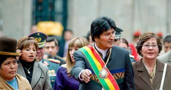 photo of Bolivia President Evo Morales