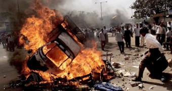 Riots in India