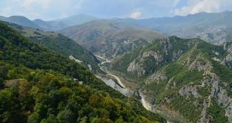 The mountains of Nagorno-Karabakh